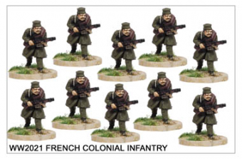 French Colonial Infantry