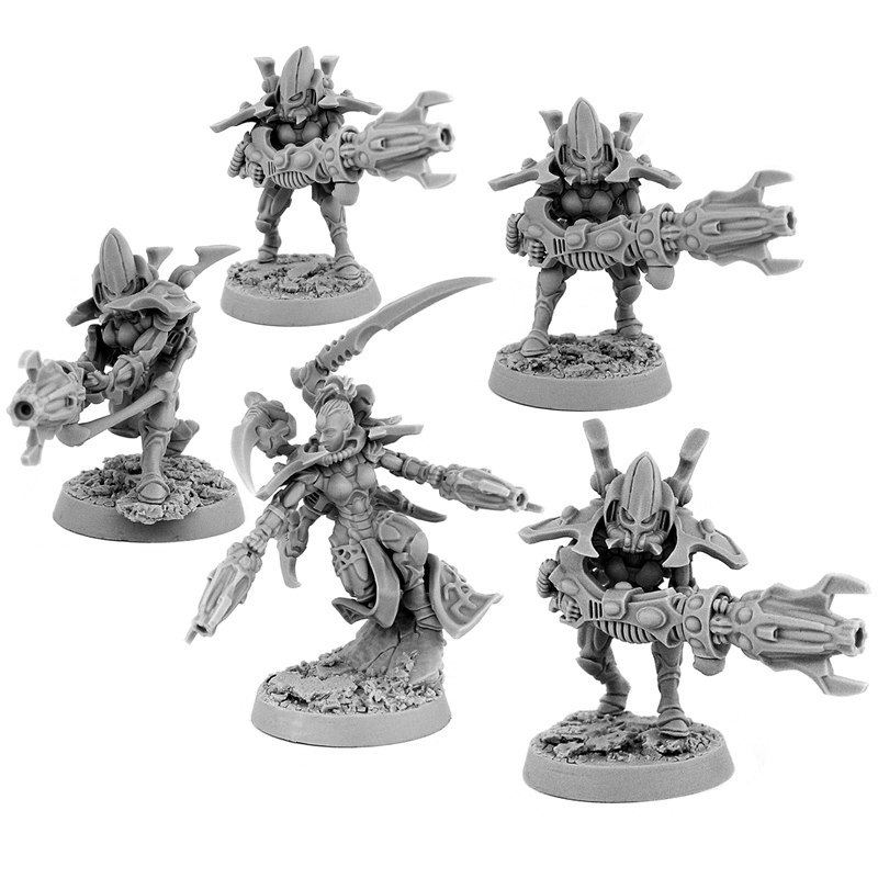 Light Side Eldar Spiders (5U)