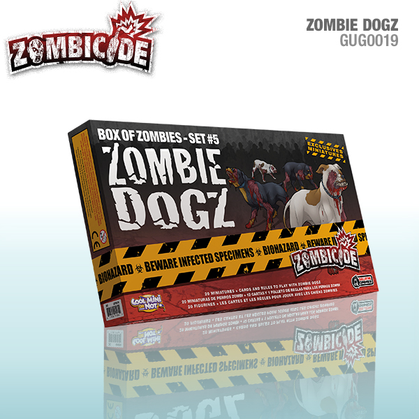 Zombicide: Zombie Dogs - Box of Zombies set 5
