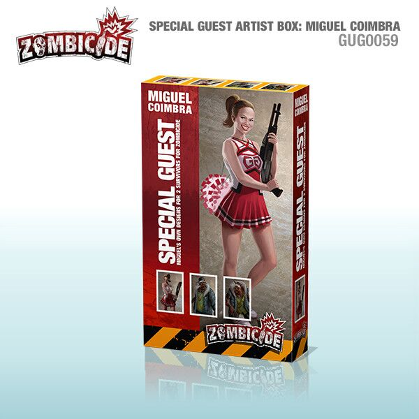 Zombicide: Special Guest Art Box Miguel Coimbra