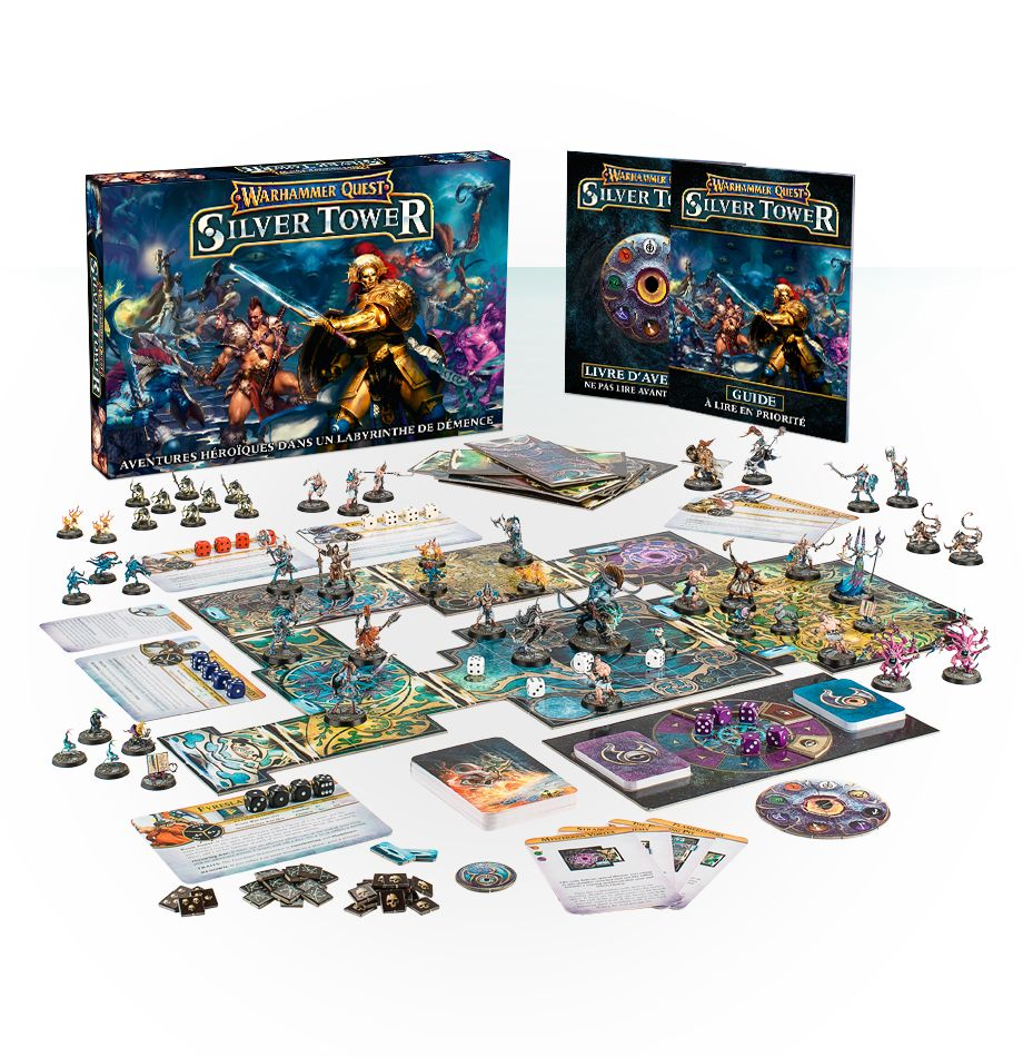 Warhammer Quest: Silver Tower (Français)