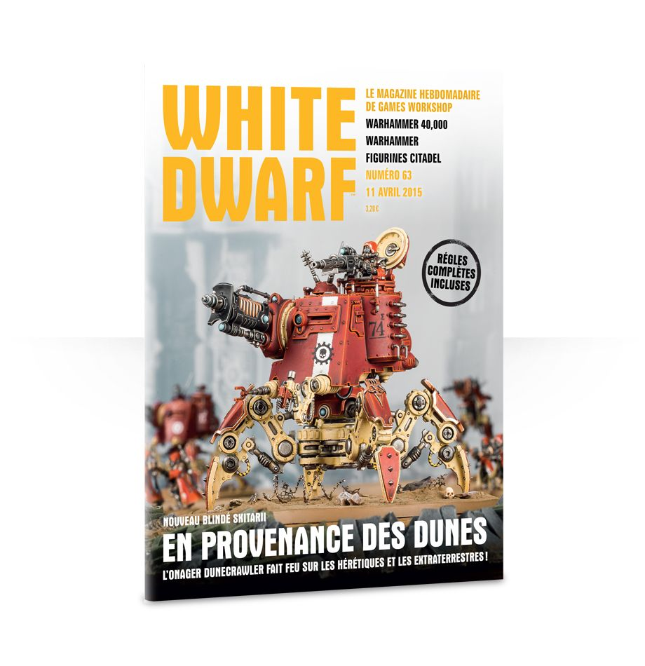 White Dwarf Issue 63 (Français)