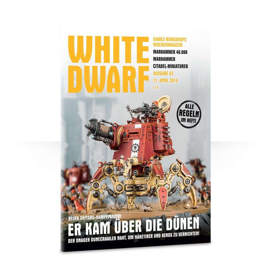 White Dwarf Issue 63 (Deutsch)