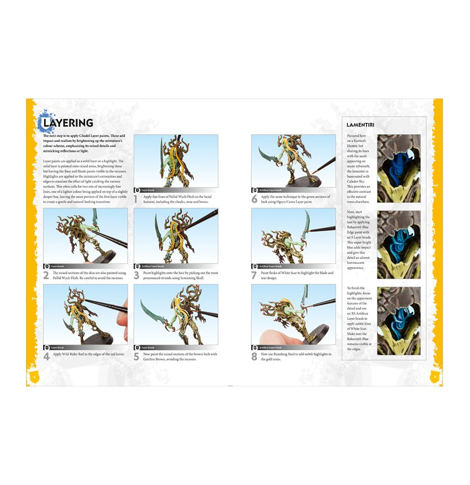 How To Paint Citadel Miniatures Sylvaneth Miniset Net Miniatures Collectors Guide