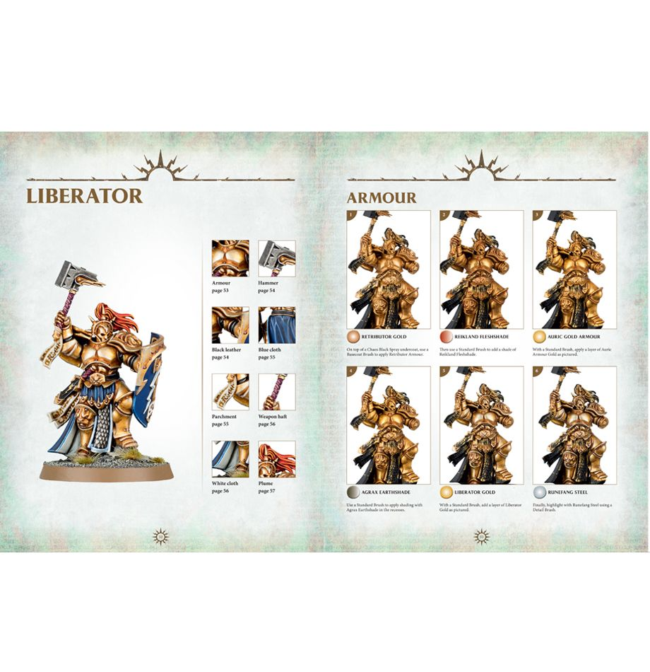 Warhammer Age of Sigmar Painting Guide | Miniset net