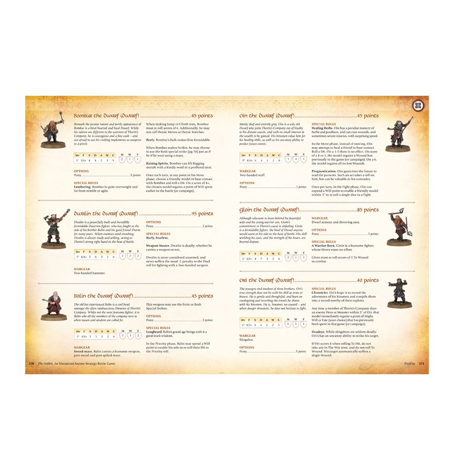 the hobbit strategy battle game rules pdf