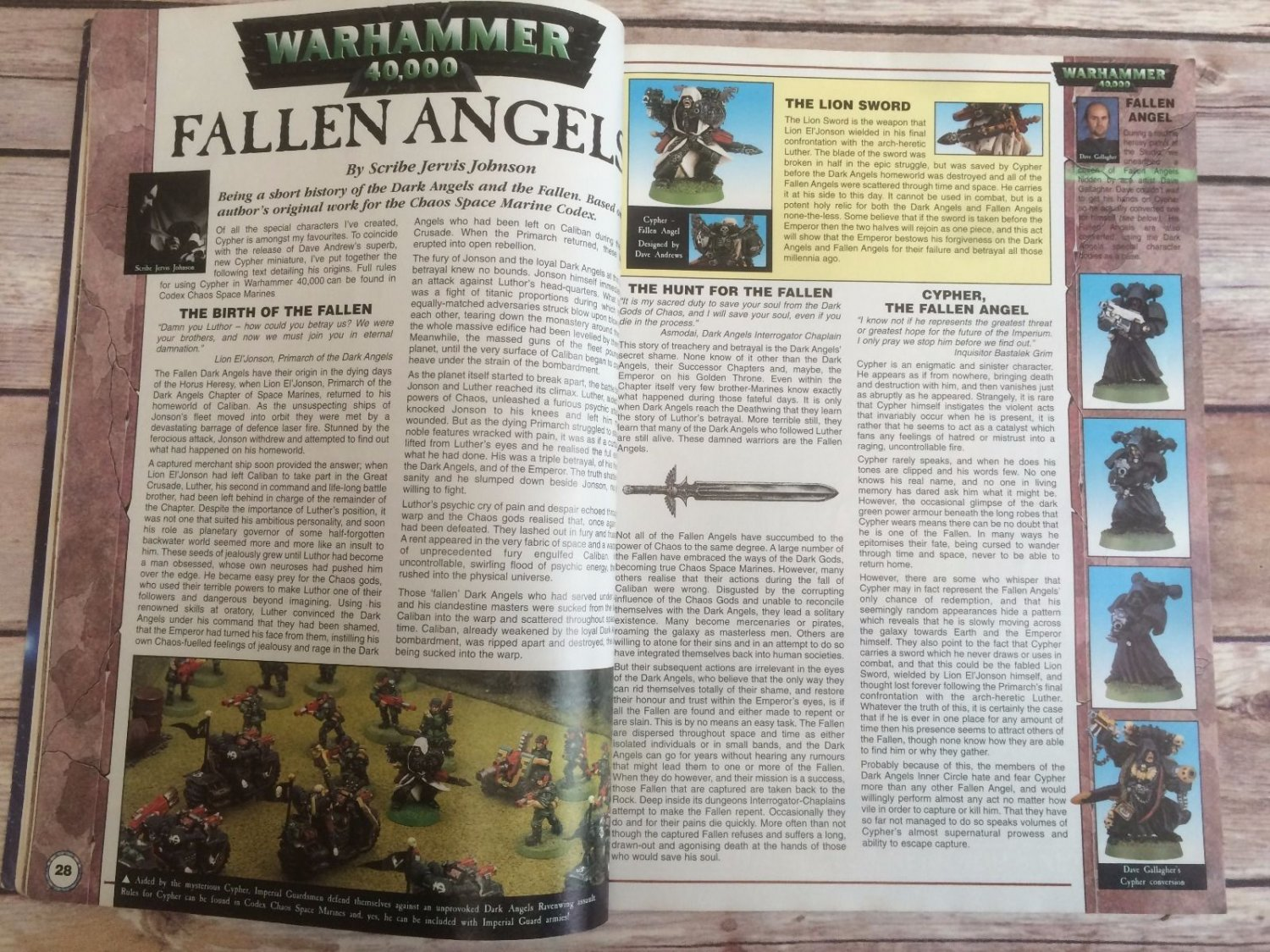 White Dwarf issue 231 | Miniset net - Miniatures Collectors Guide