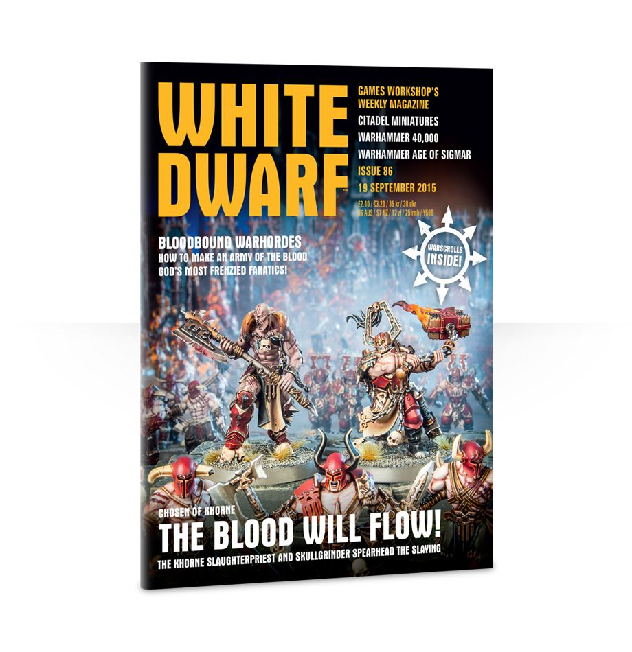 White Dwarf Issue 86