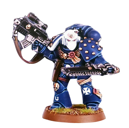 White Dwarf Subscription 2007 - 2008 Space Marine Veteran Metal Boxed Set
