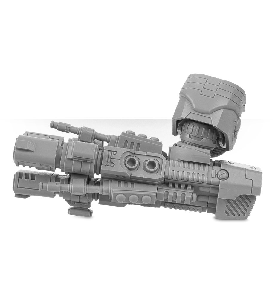 KX139 Ta'unar Supremacy Armour Tri-axis Ion Cannon   Miniset net