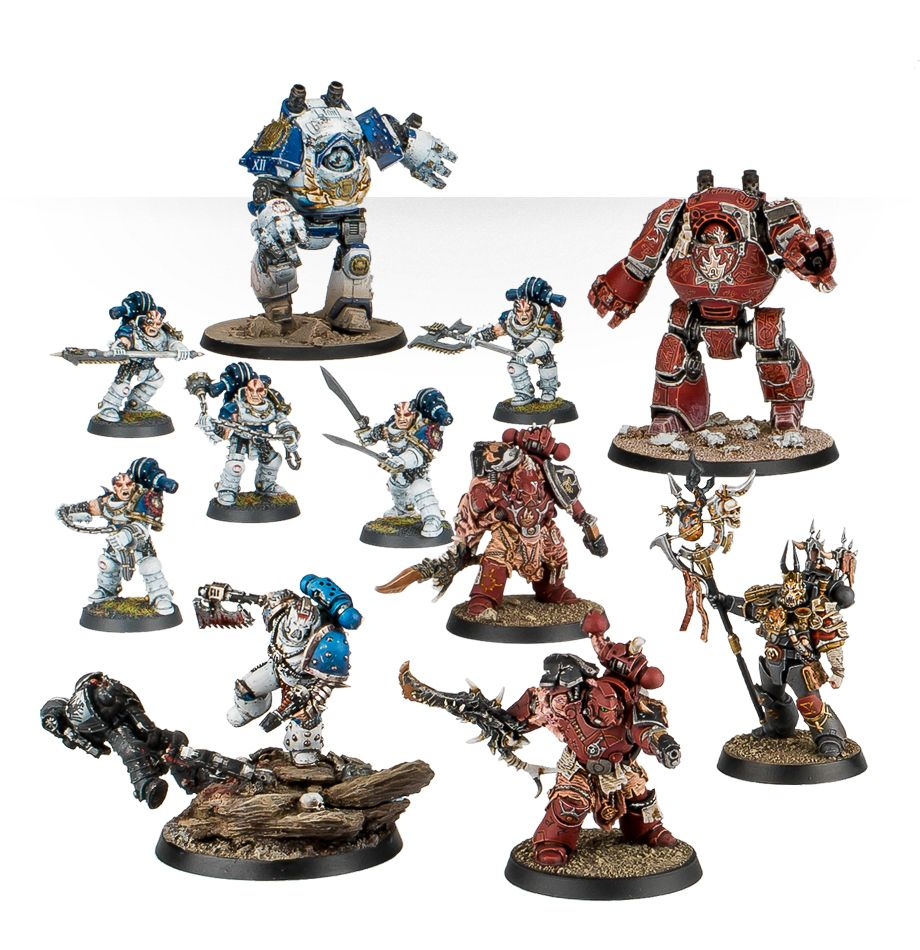 World Eaters and Word Bearers Shattered Legion Force