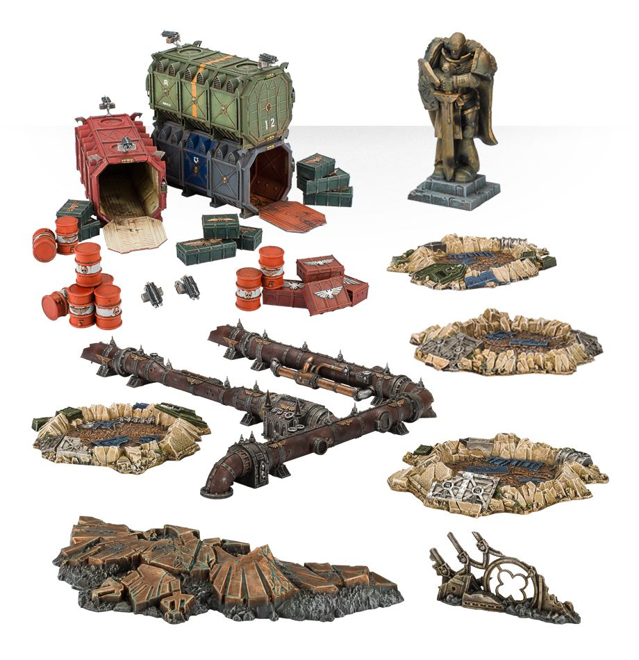Kill Team Terrain Collection | Miniset net - Miniatures Collectors Guide