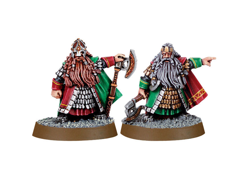 Dwarf Lords Dain & Balin | Miniset.net - Miniatures Collectors Guide