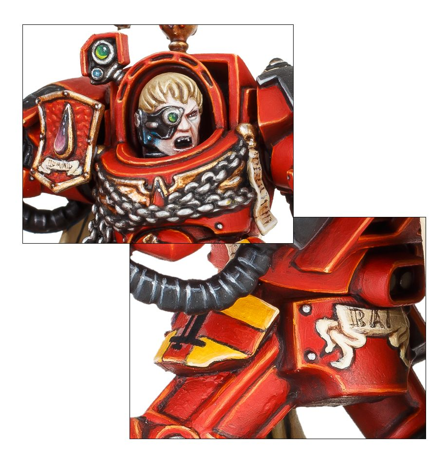 Warhammer 40,000 Blood Angels Captain in Terminator Armour 41-16