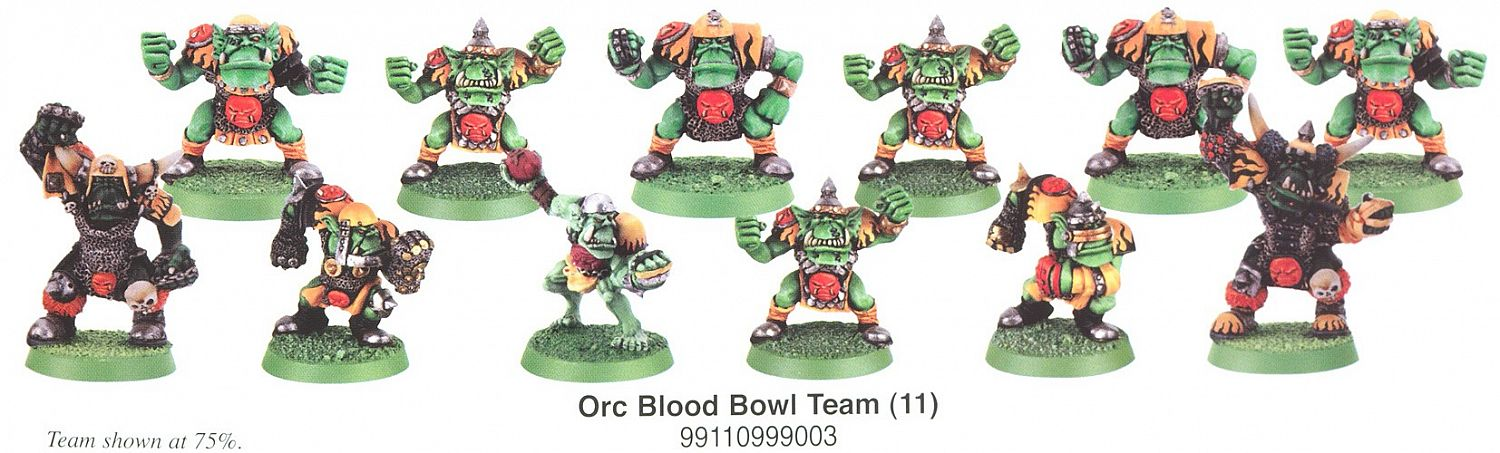 Orc Blood Bowl Team