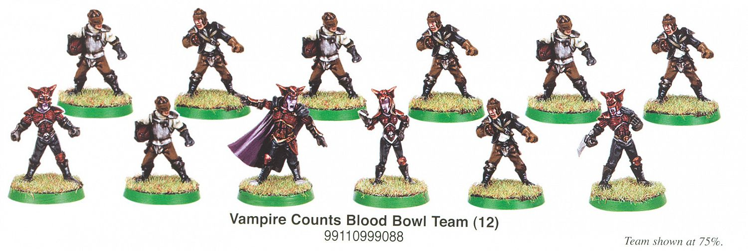 how to play vampires blood bowl