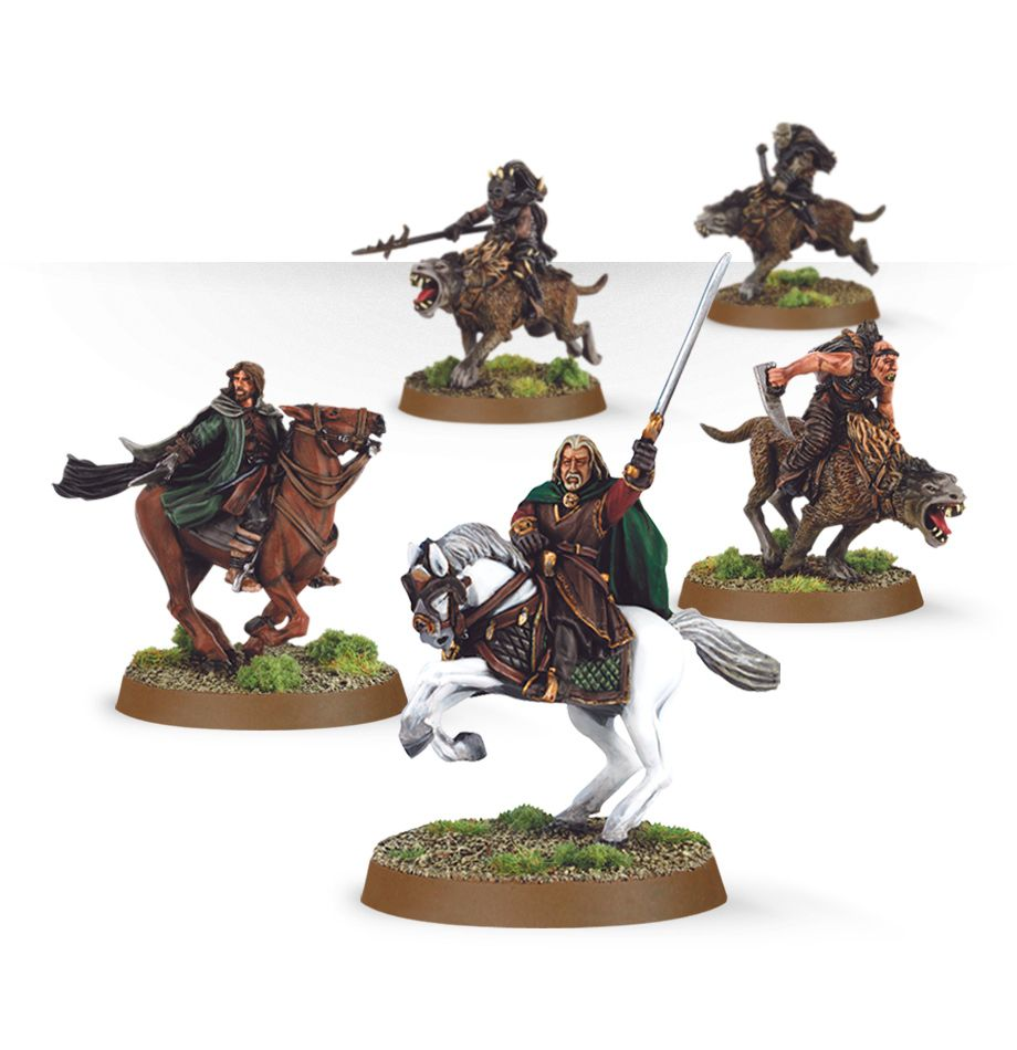 Warg Attack (5 figures)