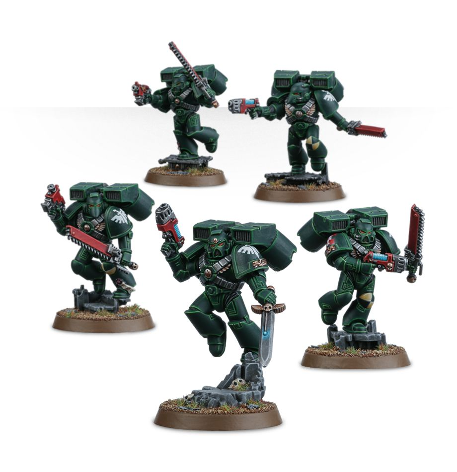 40K Space Marines Assault Heavy Chainsword Eviscerator Bits