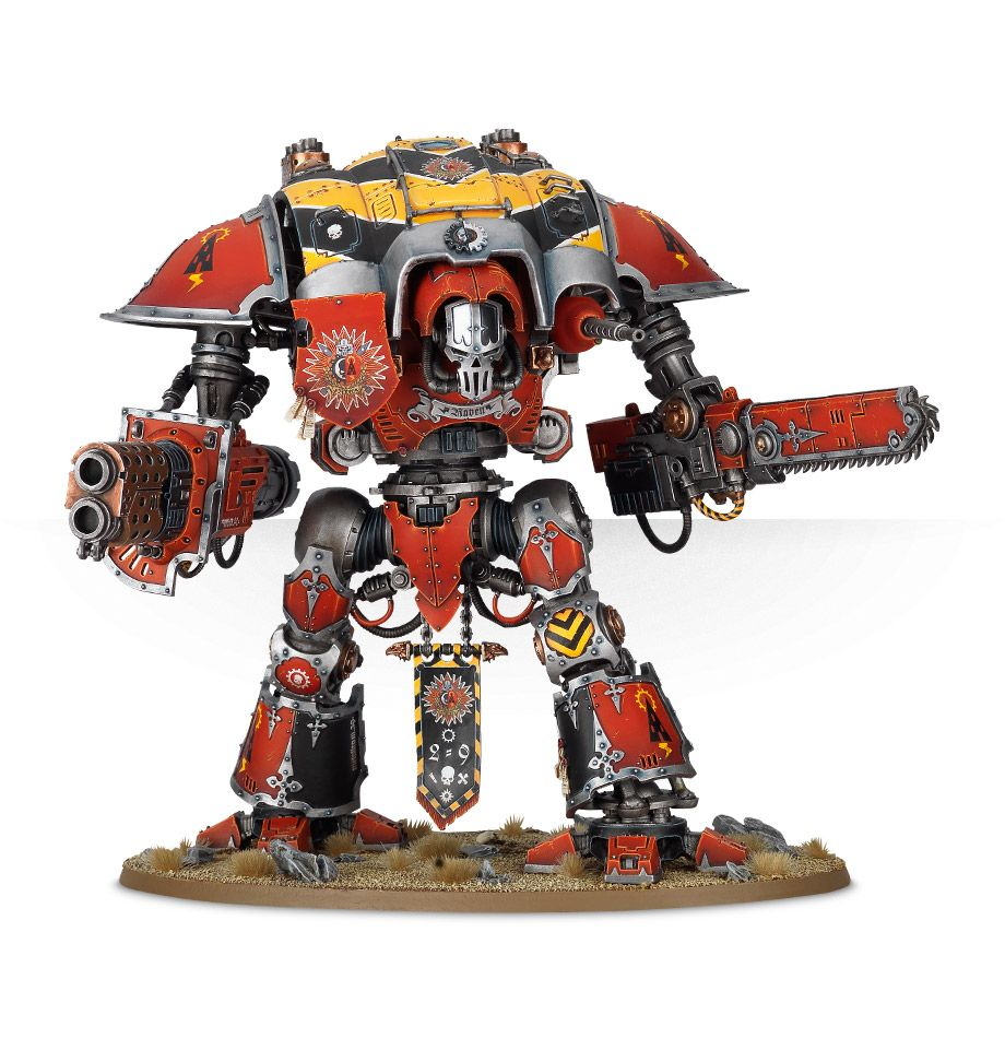 40K 1x Imperial Knight Errant Paladin Renegade Knights Warhammer NoS NEW!