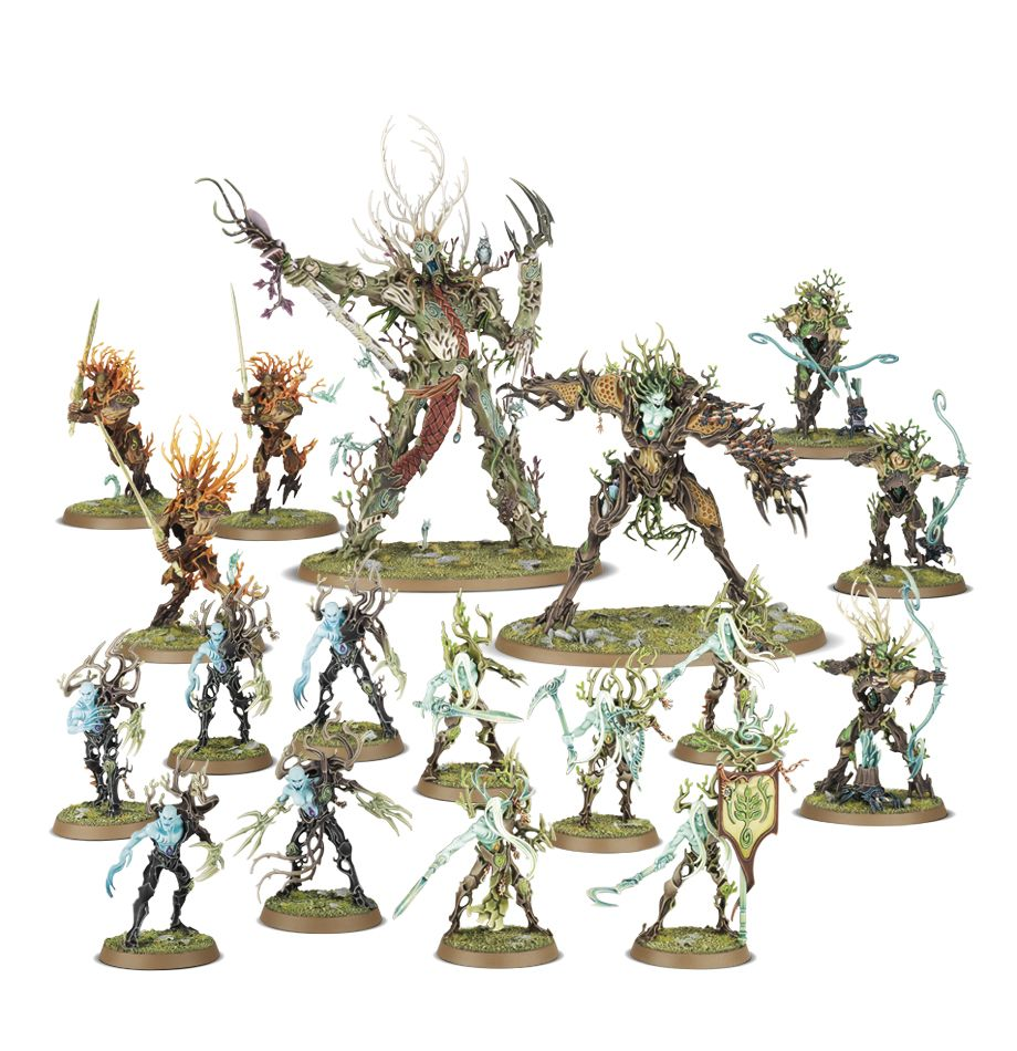 Battleforce: Sylvaneth Darkroot Wargrove
