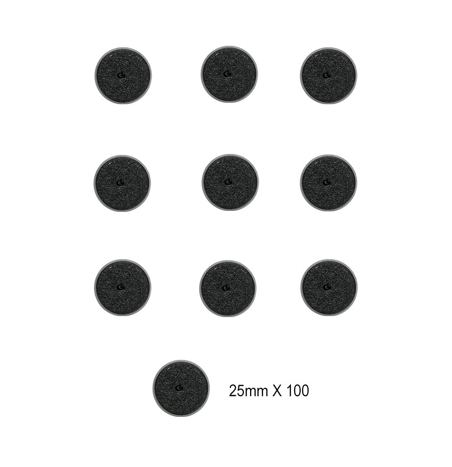 Citadel 25mm Round Bases (100 Pack)