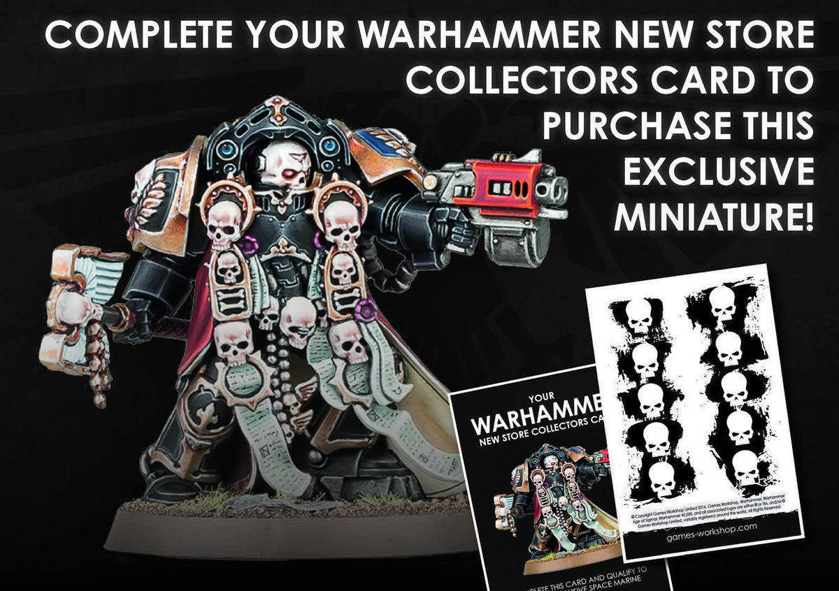Space Marine Terminator Chaplain Collectors Edition