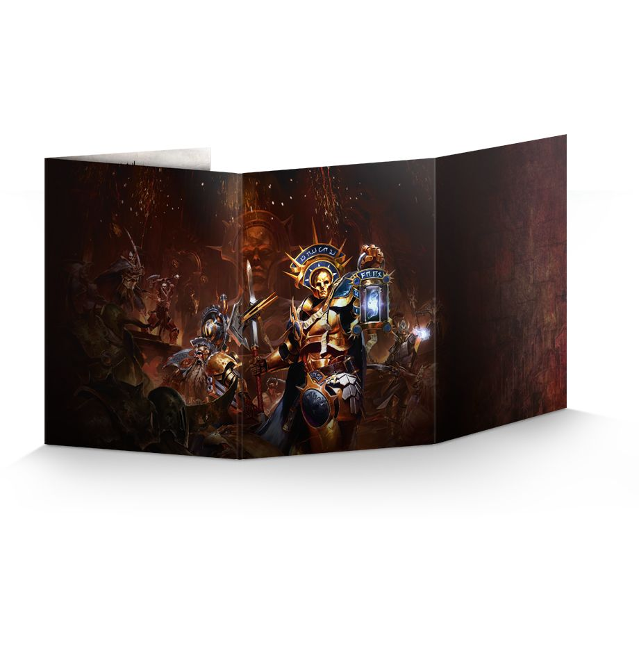FREE Warhammer Quest Shadows Over Hammerhal Games Master's screen