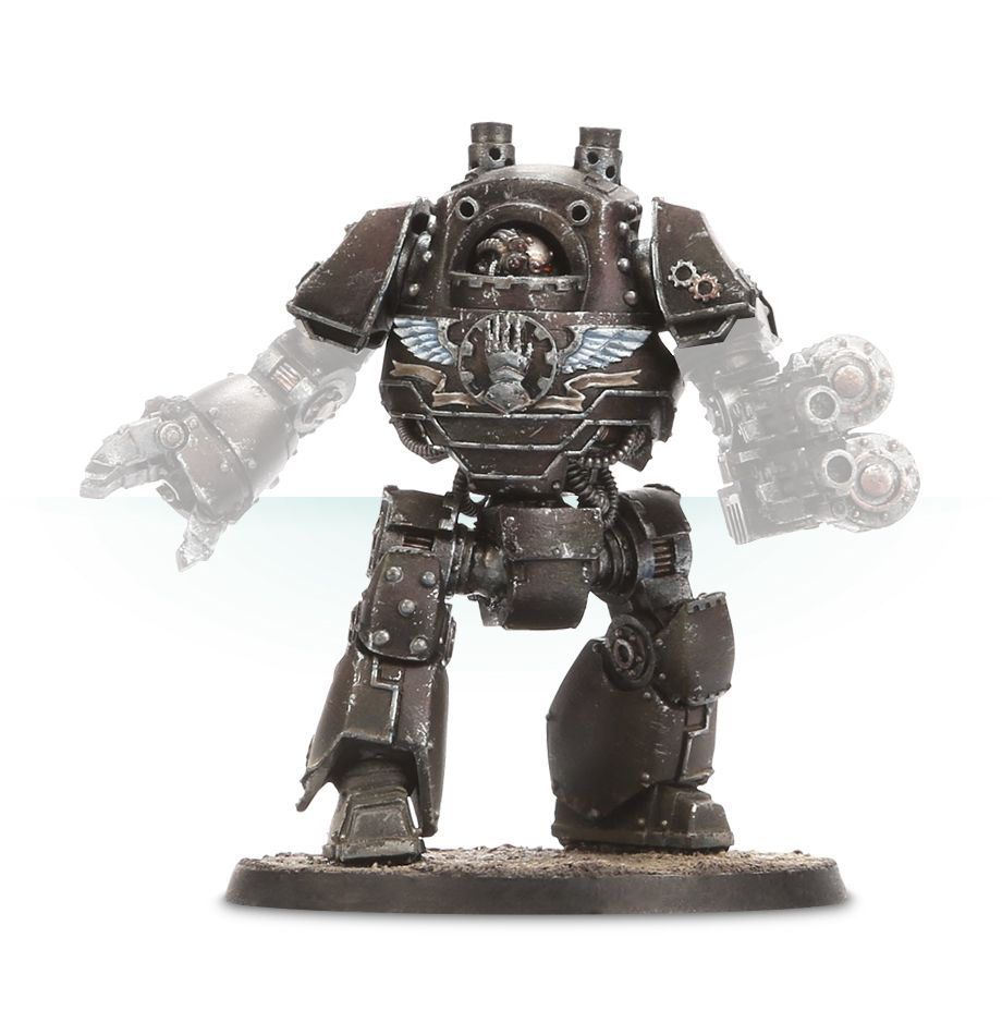 Iron Hands Legion Contemptor Dreadnought