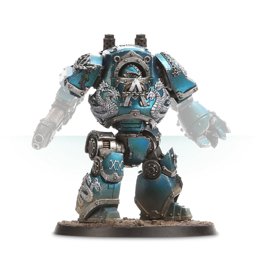 Alpha Legion Contemptor Dreadnought