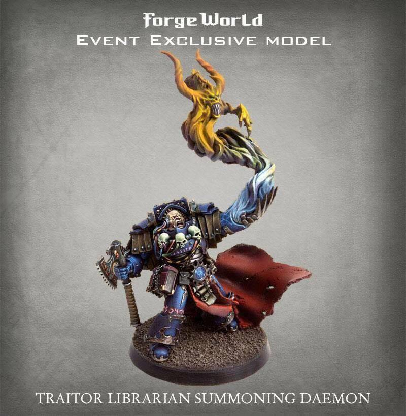 Traitor Librarian Summoning Daemon Event Exclusive Model