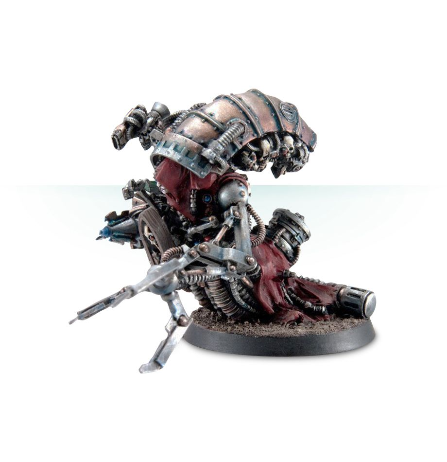 Mechanicum Magos Dominus with Rad-Cleanser