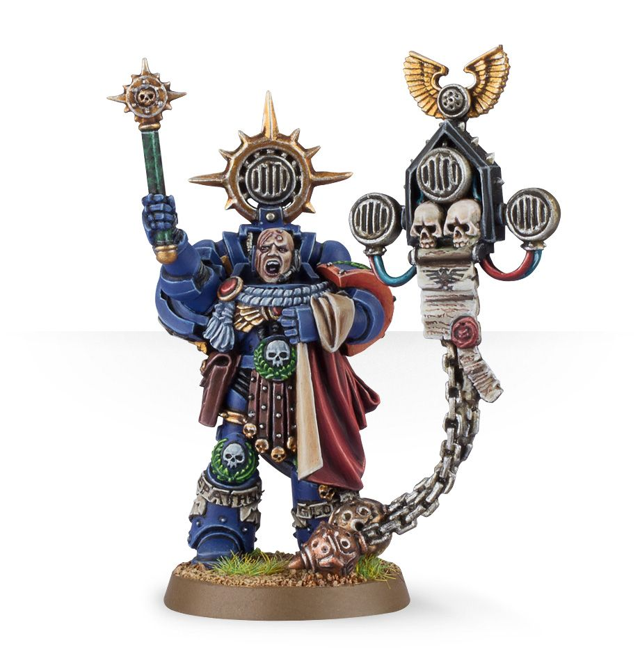 General Warhammer 40k Space Marines: Space Marine Captain: Master Of The Rites From Games