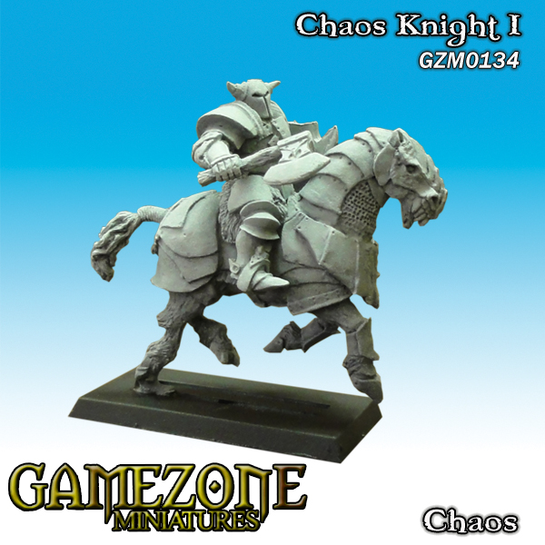 Gamezone Miniatures: Chaos - Chaos Knight I