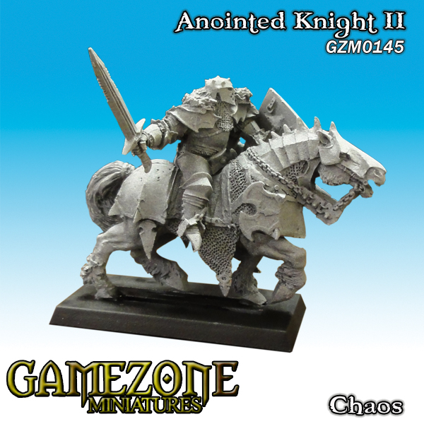 Gamezone Miniatures: Chaos - Anointed Knight II 1)