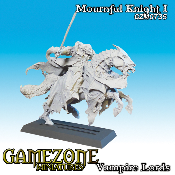 Gamezone Miniatures: Vampires Lords - Mournful Knight I (1)