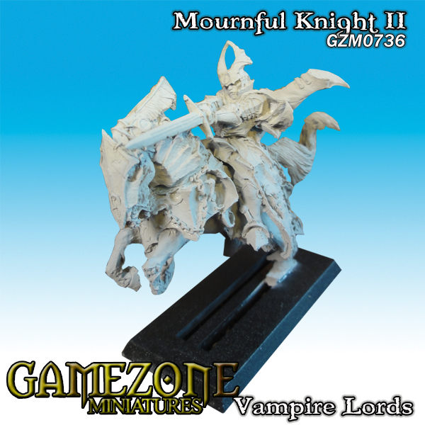 Gamezone Miniatures: Vampires Lords - Mournful Knight II