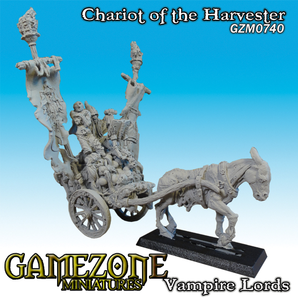Gamezone Miniatures: Vampires Lords - Chariot of the Harvester