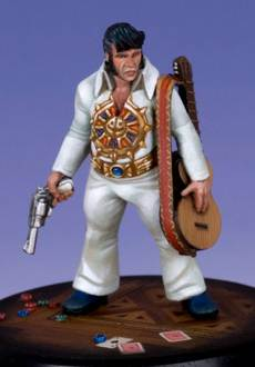 Bubba, Elvis impersonator zombie hunter with 357 magnum.