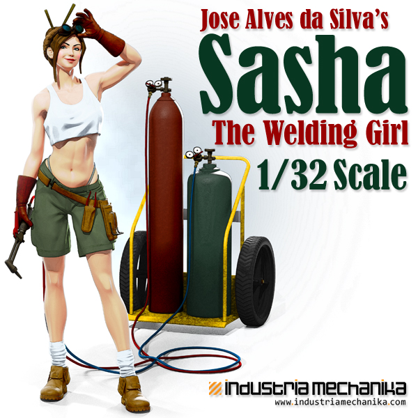 1/32 Sasha The Welding Girl