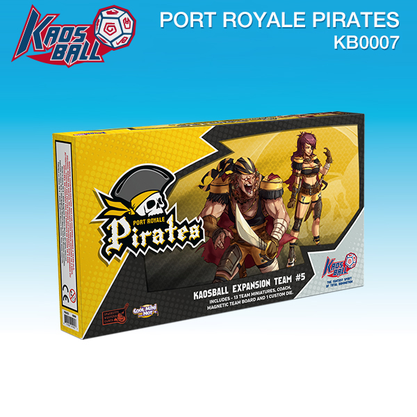 Kaos Ball:: Port Royale Pirates