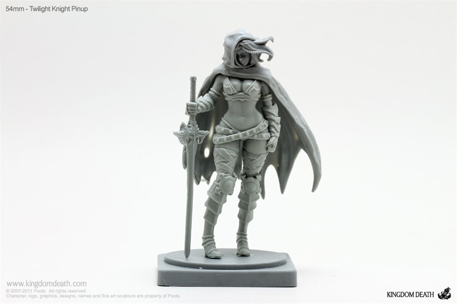 54mm Twilight Knight Pinup