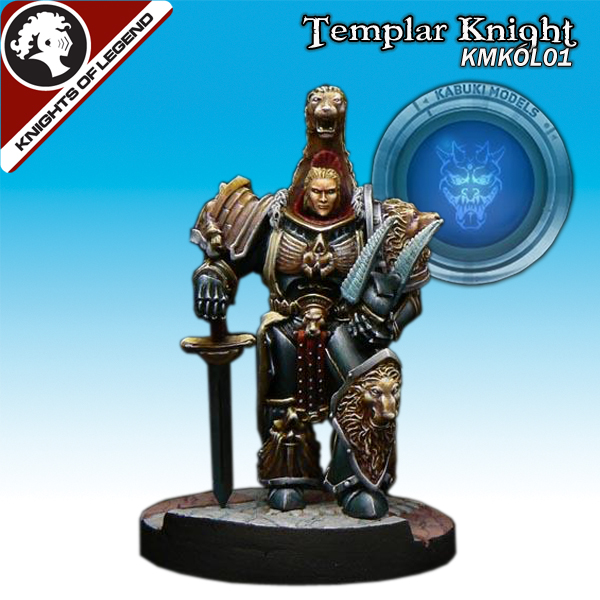 Templar Knight (40mm) (Limited to 300)