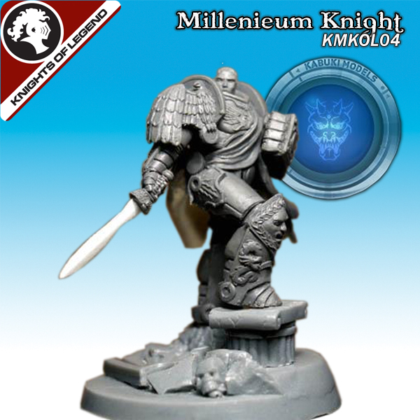 Millennium Knight (40mm) (Limited to 300)