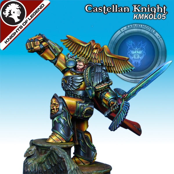 Castellan Knight (40mm) (Limited to 300)