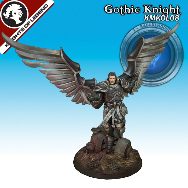 Gothic Knight (40mm) (Limited to 500)