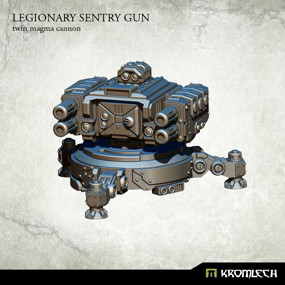 Legionary Sentry Gun: Twin Magma Cannon