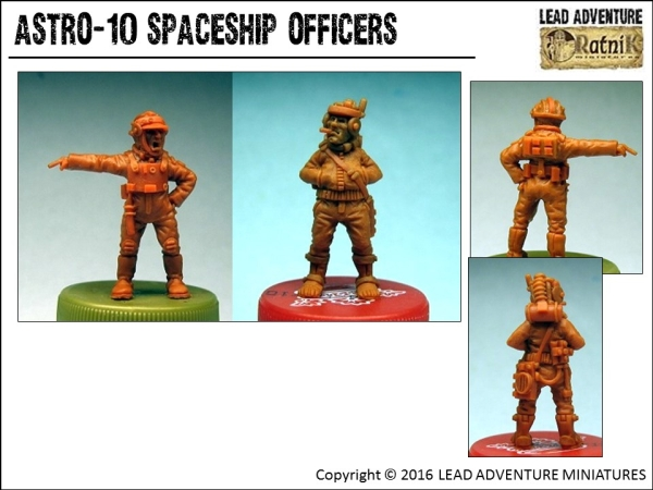 Spaceship Officers