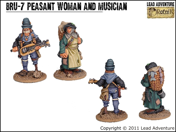 Peasant Woman and Musician