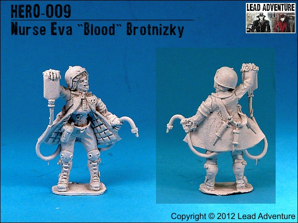 "Nurse Eva ""Blood"" Brotnizky"