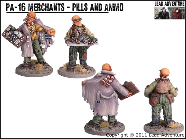 Merchants - Pills and Ammo